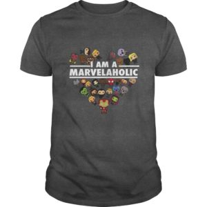 I am a Marvelaholic shirt 300x300 - I am a Marvelaholic shirt, hoodie, ladies