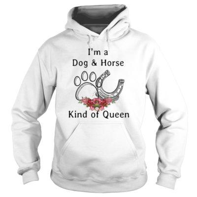Im a Dog and Horse Kind of Qeen shirt2 400x400 - I'm a Dog and Horse kind of Qeen shirt, hoodie