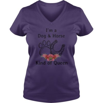 Im a Dog and Horse Kind of Qeen shirt3 400x400 - I'm a Dog and Horse kind of Qeen shirt, hoodie