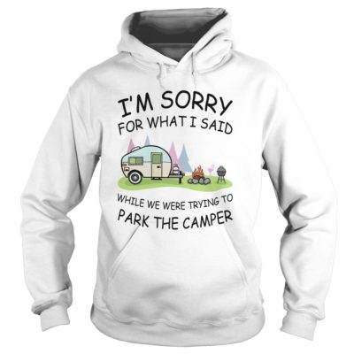 Im sorry for what I said while we were trying to park the camper hoodie 400x400 - I'm sorry for what I said while we were trying to park the camper shirt, mugs
