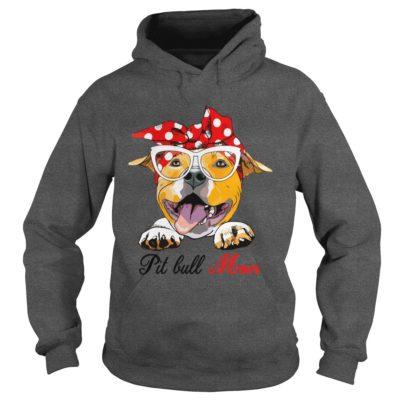 Pit bull Mom shirt2 400x400 - Pit bull Mom shirt, long sleeve, hoodie