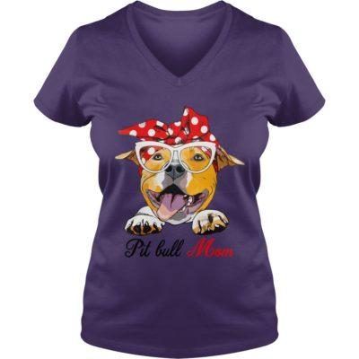 Pit bull Mom shirt3 400x400 - Pit bull Mom shirt, long sleeve, hoodie
