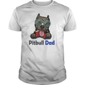 Pitbull Dad shirt 300x300 - Pitbull Dad shirt, guys tee, long sleeve, hoodie