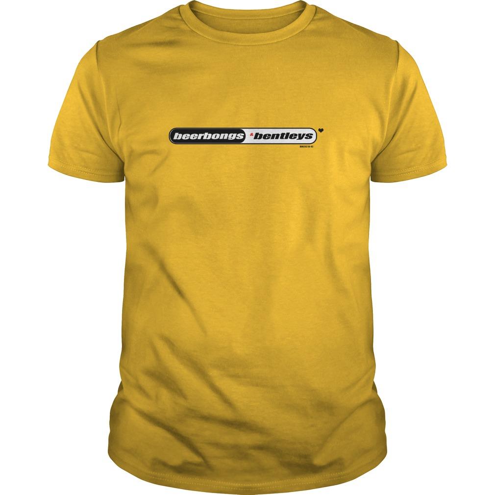 Post Malone: Beerbongs and Bentleys shirt, guys tee, tank top