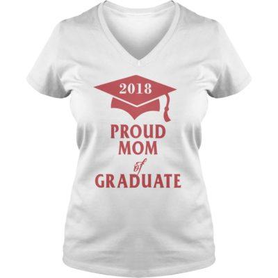 Proud Mom of Graduate 2018 ladies v neck 400x400 - Proud Mom of Graduate 2018 shirt, hoodie, long sleeve