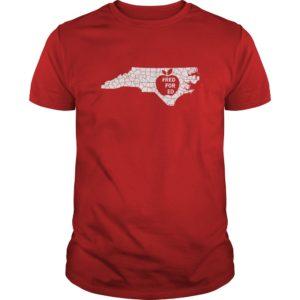 Red for Ed North Caroline shirt 300x300 - Red for Ed North Carolina shirt, hoodie, guys tee