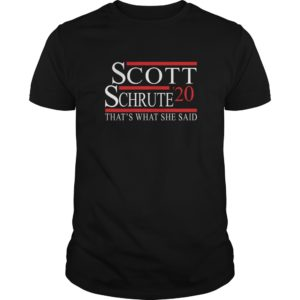 Scott Schrute 2020 Thats What She Said shirt 300x300 - Scott Schrute 2020 That's What She Said shirt, long sleeve