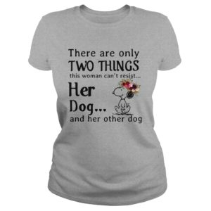 Snoopy There are only two things this Woman cant resist her Dog shirt 300x300 - Snoopy There are only two things this Woman can't resist her Dog shirt