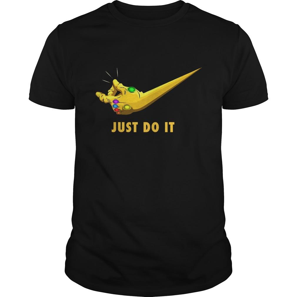Thanos Just do it shirt - Thanos Just do it shirt, guys tee, hoodie, long sleeve
