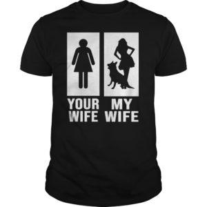 Your Wife My Wife German Shepherd Dog shirt 300x300 - Your Wife My Wife German Shepherd Dog shirt, guys tee, hoodie