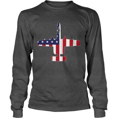 A 10 Thunderbolt II Flag long sleeve 400x400 - A-10 Thunderbolt II Flag shirt, guys tee, long sleeve, tank top