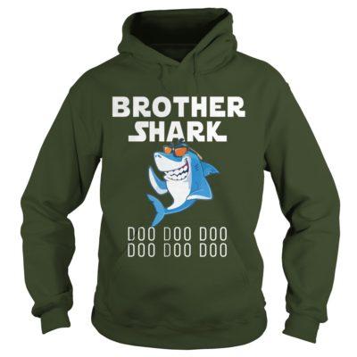 Brother Shark Doo Doo Doo hoodie 400x400 - Brother Shark Doo Doo Doo shirt, guys tee, youth tee