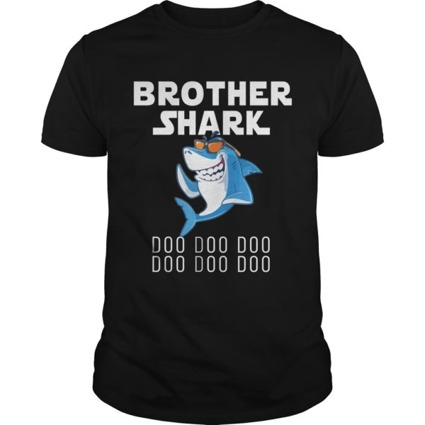 Brother Shark Doo Doo Doo shirt 600x600 - Brother Shark Doo Doo Doo shirt, guys tee, youth tee