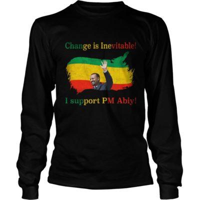 Change is inevitable I support Pm Abiy long sleeve 400x400 - Change Is Inevitable I Support Om Abiy shirt, long sleeve, hoodie