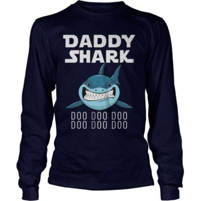 Daddy Shark Doo Doo Doo long sleeve 400x400 - Daddy Shark Doo Doo Doo shirt, guys tee, youth tee, hoodie