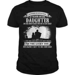 God Blessed Me With An Angel My Freaking Awesome Daughter shirt 300x300 - God Blessed Me With An Angel My Freaking Awesome Daughter shirt