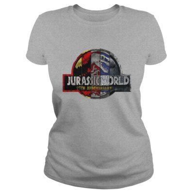 Jurassic Park 25th Anniversary ladies tee 400x400 - Jurassic Park 25th Anniversary shirt, guys tee, ladies tee, long sleeve