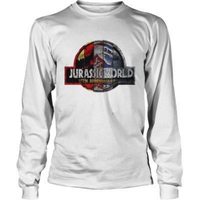 Jurassic Park 25th Anniversary long sleeve 400x400 - Jurassic Park 25th Anniversary shirt, guys tee, ladies tee, long sleeve