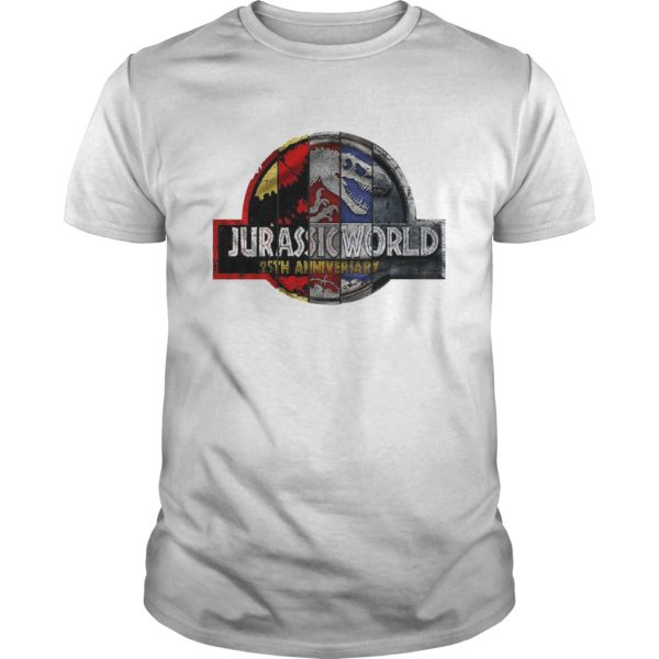 Jurassic Park 25th Anniversary shirt 600x600 - Jurassic Park 25th Anniversary shirt, guys tee, ladies tee, long sleeve
