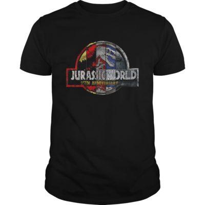 Jurassic Park 25th Anniversary t shirt 400x400 - Jurassic Park 25th Anniversary shirt, guys tee, ladies tee, long sleeve