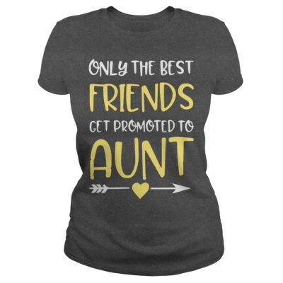 Only The Best Friends Get Promoted To Aunt ladies tee 400x400 - Only The Best Friends Get Promoted To Aunt shirt, ladies tee