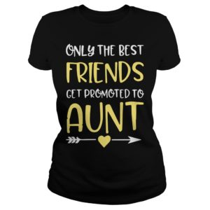 Only The Best Friends Get Promoted To Aunt shirt 300x300 - Only The Best Friends Get Promoted To Aunt shirt, ladies tee