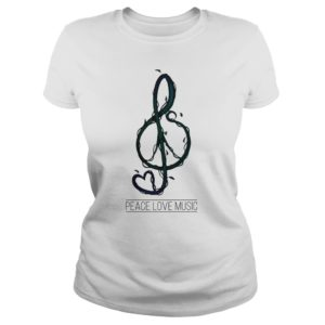 Peace loves Music shirt 300x300 - Peace Love Music shirt - Simple shirt for the life