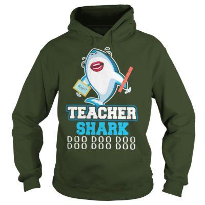 Teacher Shark Doo Doo Doo hoodie 400x400 - Teacher Shark Doo Doo Doo shirt, hoodie, long sleeve