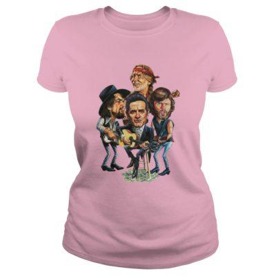 The Highwaymen ladies tee 1 400x400 - Waylon, Willie, Cash, Kristofferson - The Highwaymen shirt, ladies te