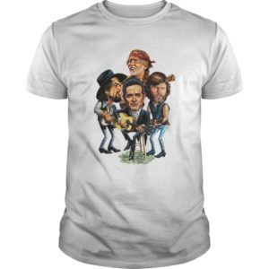 The Highwaymen shirt 1 300x300 - Waylon, Willie, Cash, Kristofferson - The Highwaymen shirt, ladies te