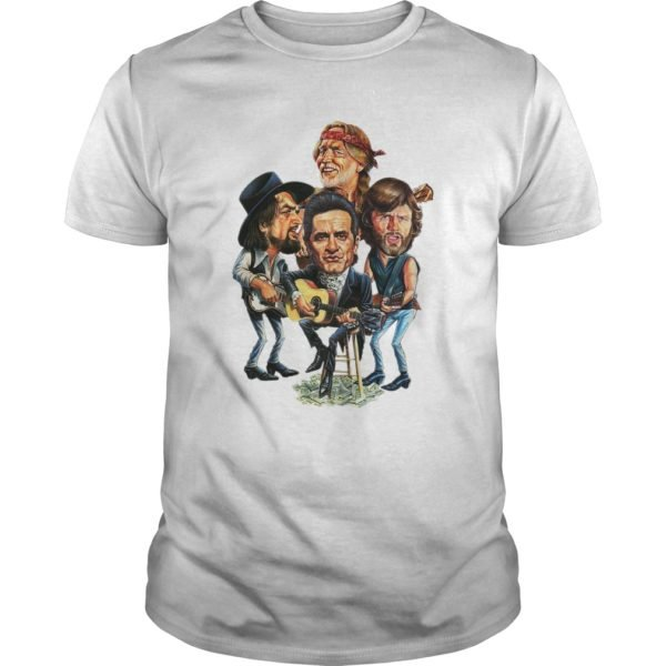 The Highwaymen shirt 1 600x600 - Waylon, Willie, Cash, Kristofferson - The Highwaymen shirt, ladies te
