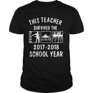 This Teacher Survived The Floss Fortnite Slime shirt 300x300 - This Teacher Survived The Floss Fortnite Slime shirt, guys tee, hoodie