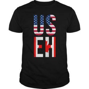 USEH America Canada Flag shirt 300x300 - USEH America Canada Flag shirt, guys tee, hoodie, ladies tee