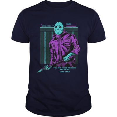 11 1 400x400 - Friday the 13th Jason Voorhees You And Your Friends are Dead shirt, hoodie