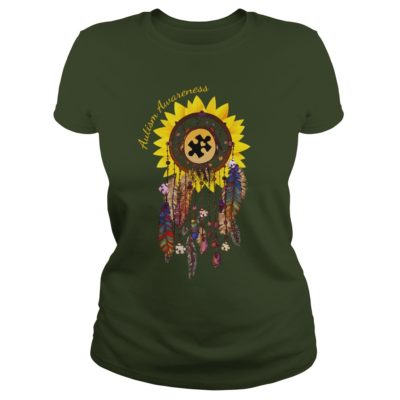 4 3 400x400 - Dreamcatcher Sunflower Autism Awareness shirt, hoodie, long sleeve