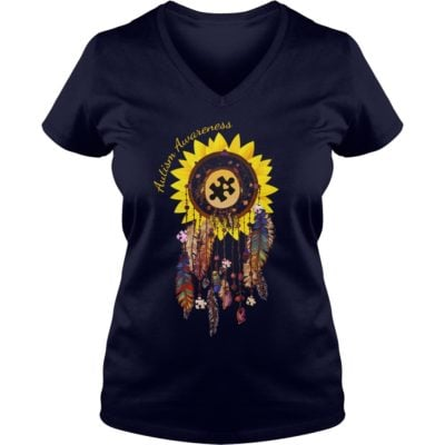 44 1 400x400 - Dreamcatcher Sunflower Autism Awareness shirt, hoodie, long sleeve