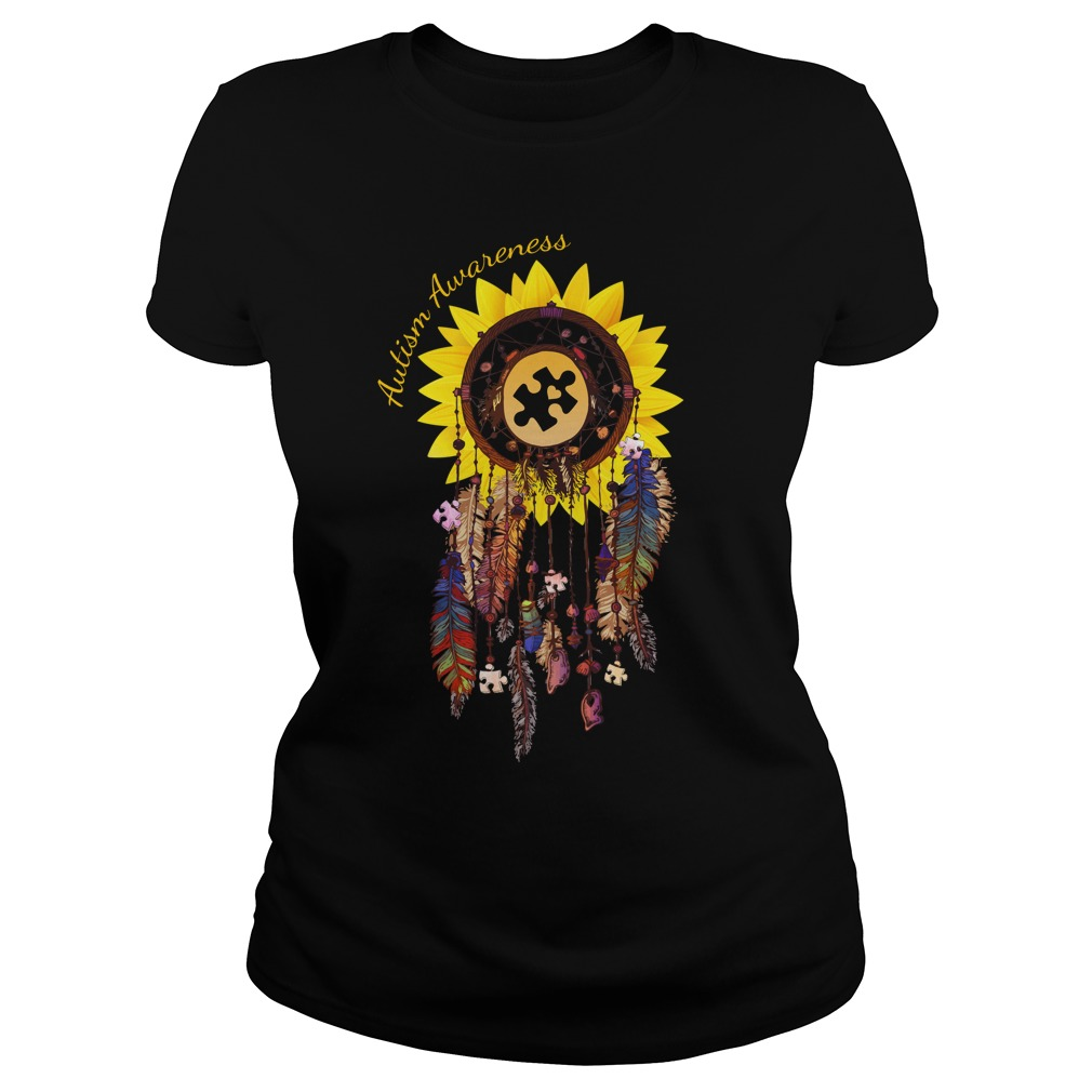 Dreamcatcher Sunflower Autism Awareness shirt - Dreamcatcher Sunflower Autism Awareness shirt, hoodie, long sleeve