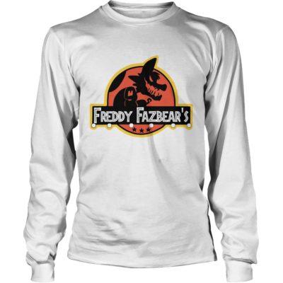 Freddy 400x400 - Jurassic Park Freddy Fazbear's Shirt, hoodie, sweat shirt