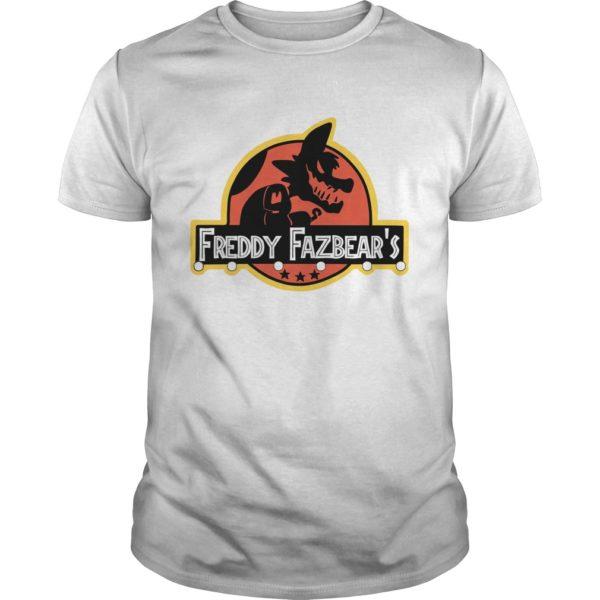 Freddy Fazbeats Shirt 600x600 - Jurassic Park Freddy Fazbear's Shirt, hoodie, sweat shirt