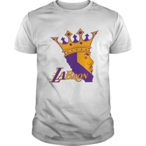 LaBron Lakers LAbron shirt in black