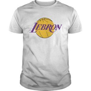 Lebron lakers t-shirt