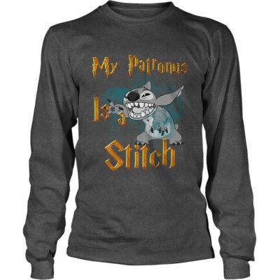 My Patronus is a 400x400 - My Patronus is a Stitch shirt, hoodie, long sleeve
