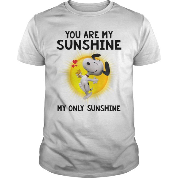 Snoopy you are my Sunshine my only Sunshine shirt 600x600 - Snoopy You are My Sunshine My Only Sunshine shirt, hoodie, ladies tee