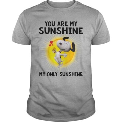 Snoopy you are my Sunshine my only Sunshine t shirt 400x400 - Snoopy You are My Sunshine My Only Sunshine shirt, hoodie, ladies tee