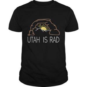 Utah is rad Shirt 300x300 - Utah Is Rad shirt- Sunrise coming up over Mountain