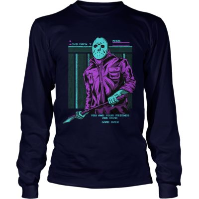 q13 400x400 - Friday the 13th Jason Voorhees You And Your Friends are Dead shirt, hoodie