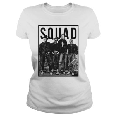 2 9 400x400 - Freddy Jason Michael Myers and Leatherface Squad t-shirt, hoodie