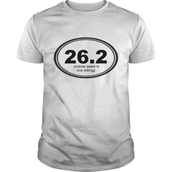 26 2 Cookies Eaten In One Sittingg Shirt 600x600 - 26 2 Cookies Eaten In One Sittingg shirt