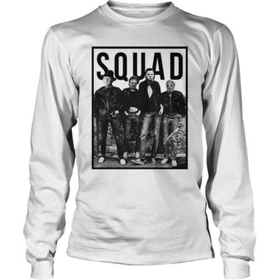 90178 1533977392513 Gildan Lon White  w97  front 400x400 - Freddy Jason Michael Myers and Leatherface Squad t-shirt, hoodie