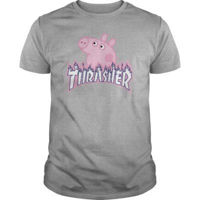 90178 1534388396275 Gildan Men Sports Grey  w96  front 400x400 - Thrasher Peppa Pig Shirt, Hoodie, Ladies tee